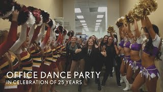 'I Wanna Dance with Somebody' One-Take Office Dance Party(This season we are celebrating The Line Up's 25th Anniversary! We are so thankful so many teams have included The Line Up as a part of their performances ..., 2015-09-11T16:10:39.000Z)