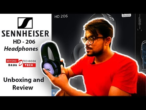 Best Headphone only in Rs.1630 | Sennheiser HD 206 Unboxing | Review, Sound Tests |