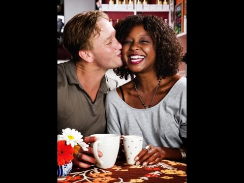 Black man and white woman having sex