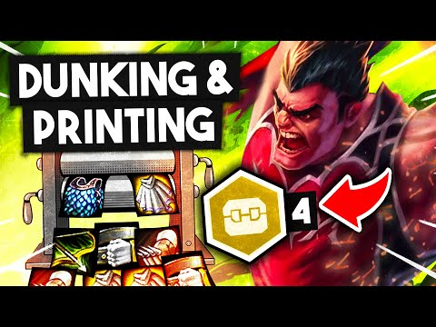 DUNKING and PRINTING ITEMS w/ SPACE JAM PIRATES! | TFT 10.11 Guide | Teamfight Tactics Galaxies