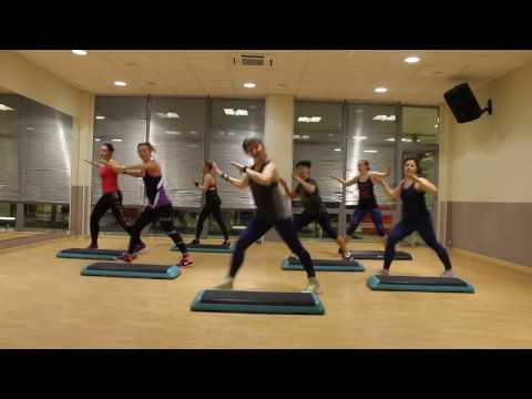 Rock This Party (Everybody Dance Now) | ZUMBA- STEP FITNESS MAXFIT (Choreo by Lyudmila Luchina)