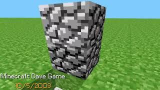 Minecraft 2009 to 2019