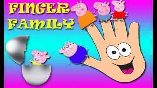 Peppa Pig Finger family song new version 2020 / Surprise eggs / Nursery rhymes