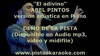 """""""El adivino"""" Version Piano Abel Pintos DEMO PISTA KARAOKE INSTRUMENTAL"""