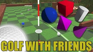 EVERY ROUND A DIFFERENT BALL? | Golf With Friends CHALLENGE