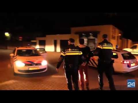 Politie oefening Saniceve Pannenweg Nederweert