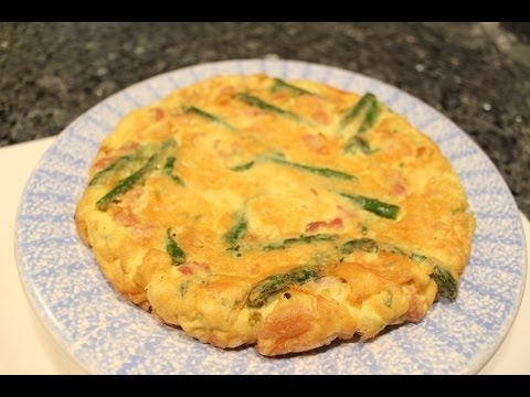 Easter Frittata with Asparagus - OrsaraRecipes