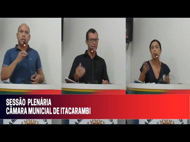 Câmara Municipal de Vereadores de Itacarambi MG Reunião realizada no dia 29/09/2021