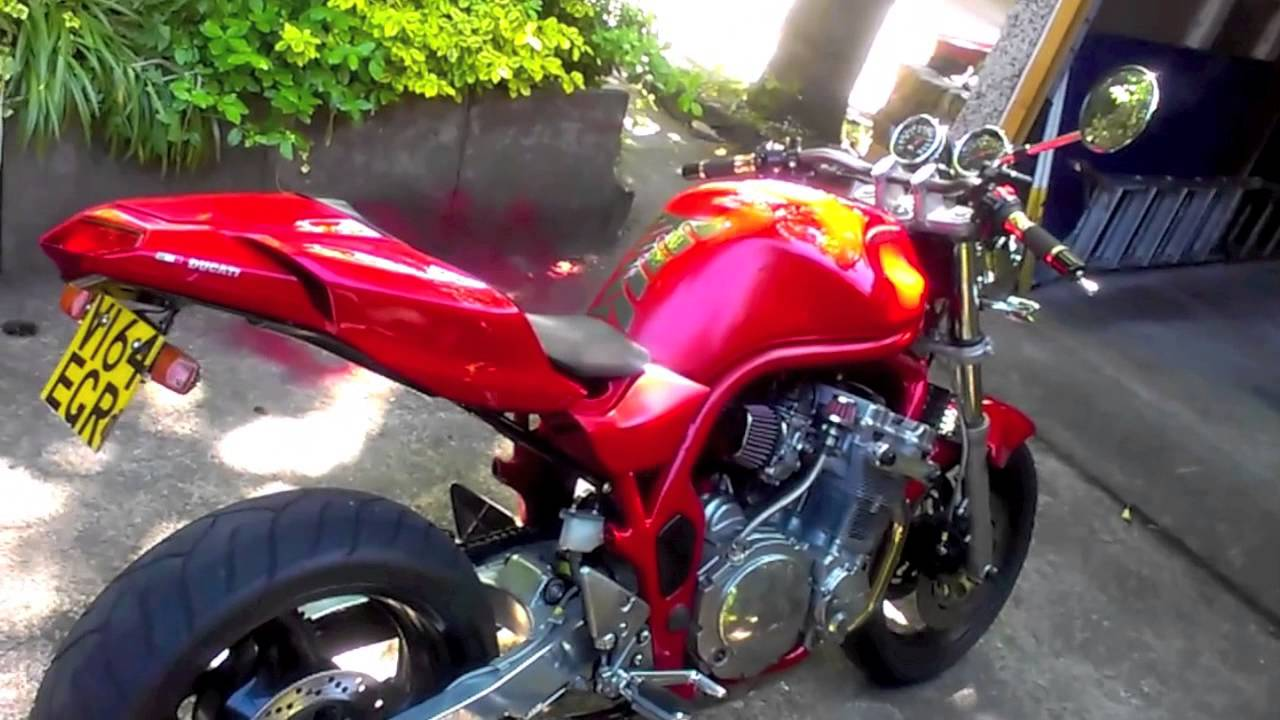 Suzuki Bandit Before And After Youtube