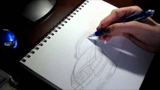 Drawing the dream wagon.