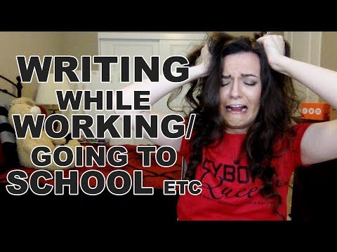 How to Write with a Full-time Job (or School) (or Life in General)