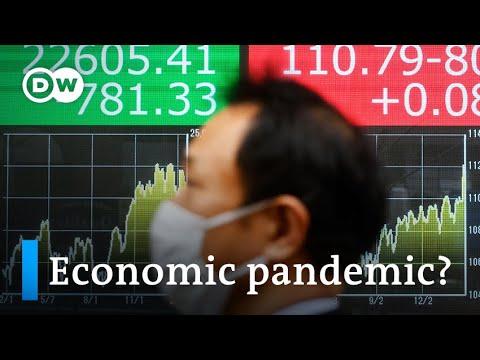 Coronavirus threatens to become a global economic pandemic | DW News