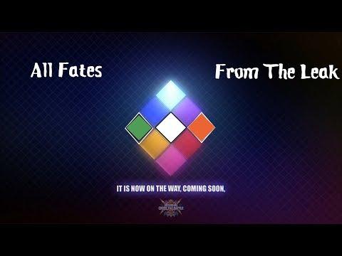 All Fates in BBTAG leak |