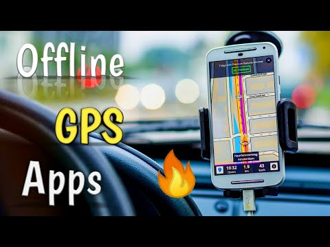 Top 5 Best [Offline GPS Navigation Apps For Android] GPS Feature To Provide Easy Navigation🔥🔥