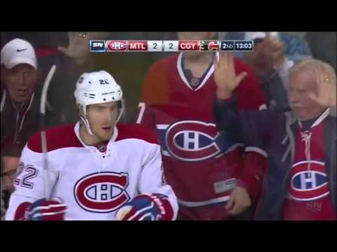Canadiens @ Flames Highlights 10/30/15
