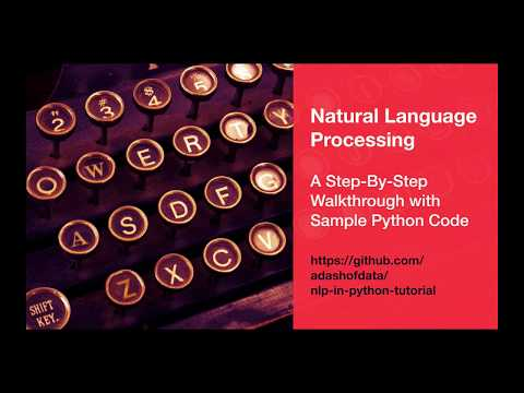 Natural Language Processing (Part 1): Introduction to NLP & Data Science