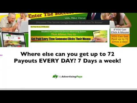 My Advertising Pays Recorded Webinar