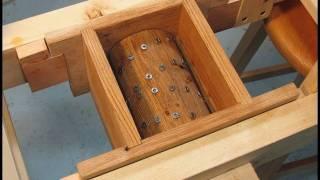 Building the apple grinder
