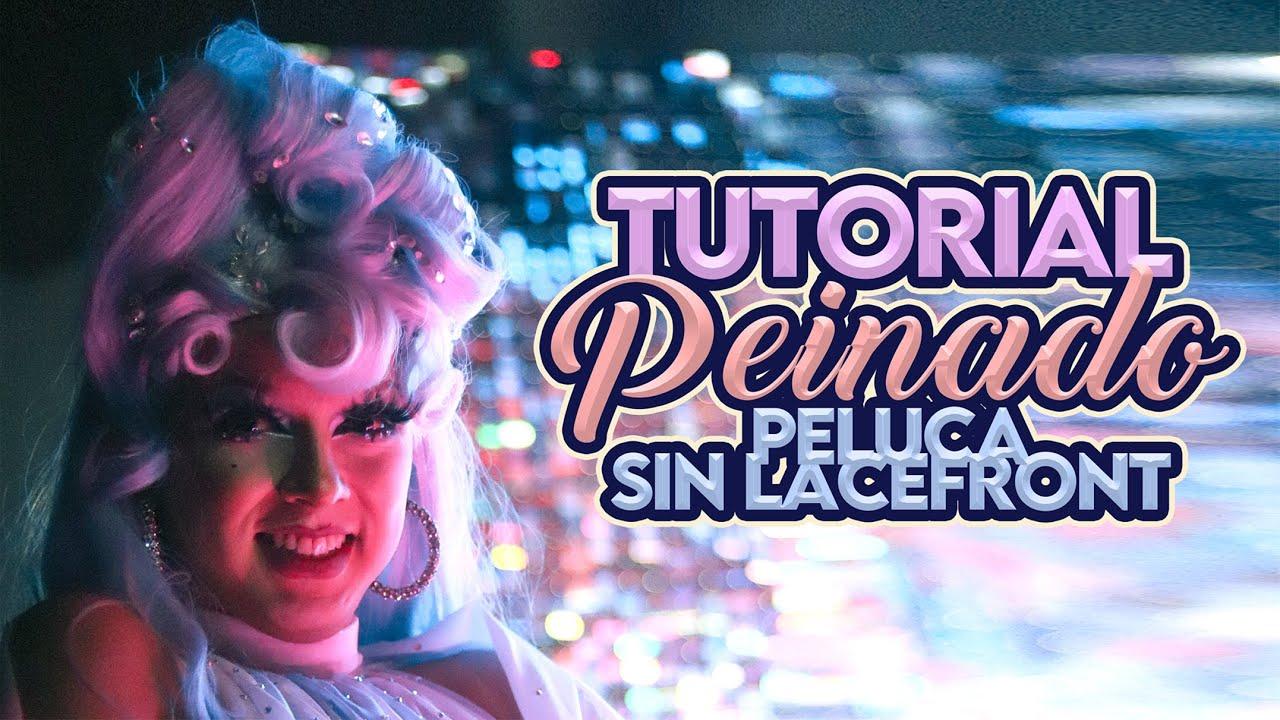 TUTORIAL DE PEINADO DE PELUCA #4 (SIN LACE FRONT) | PAM SASHAA