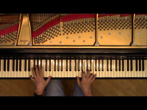 Badinerie - Piano Solo Version - from Bach Orchestral Suite #2 BWV1067