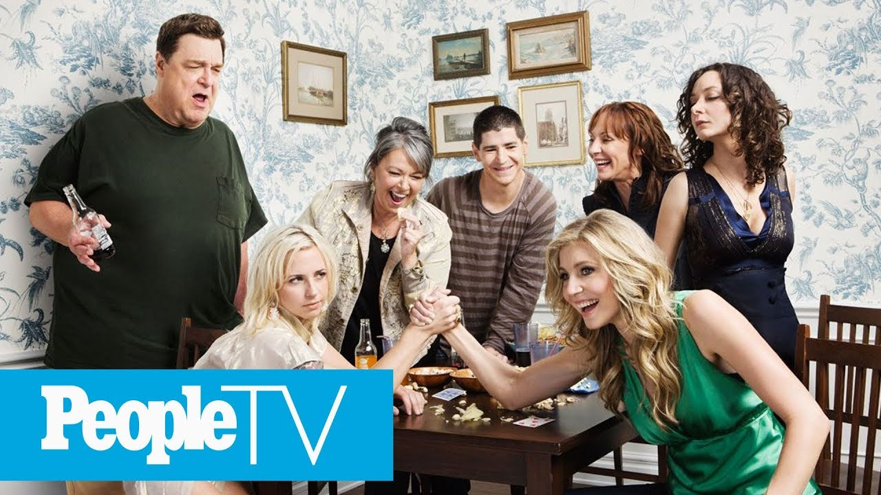 roseanne revived the cast reunites on entertainment weekly cover peopletv