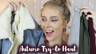 One of Fabulous Hannah's most viewed videos: AUTUMN Try-On Haul // 2016