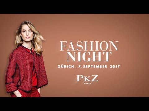 Aftermovie PKZ WOMEN Fashion Night Zürich, 7. September 17