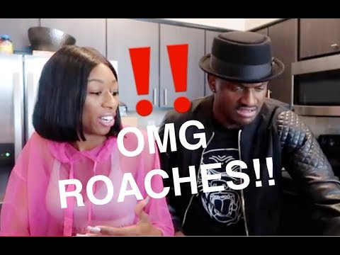 GOT ROACHES?? REACTION VIDEO!