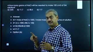 II PUC   CHEMISTRY   CET / NEET   SOLUTION - 2021