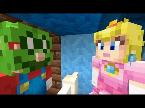 Minecraft Wii U - Super Mario Series - ZOMBIE MARIO! [183]