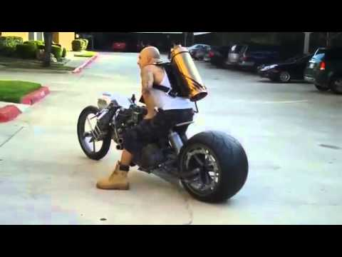 Moto choper casera