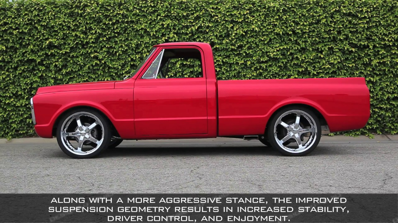 how to hotchkis 1967 72 chevy c10 pickup suspension install [ 1280 x 720 Pixel ]