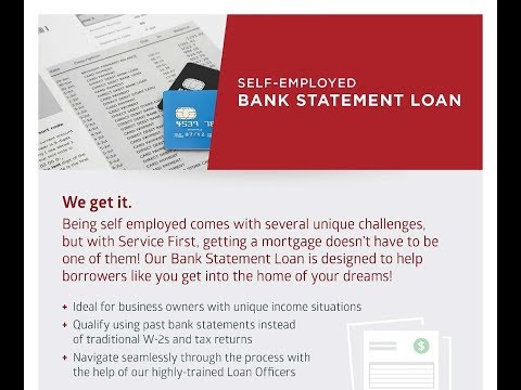 Self-Employed Home Loans - Home Loans: Bank Statement Loans For Self Employed   214- 945-1066
