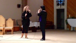 His Eye Is On The Sparrow (Sister Act 2 version)/Covered by Heidi Jutras & Clairinda Granger