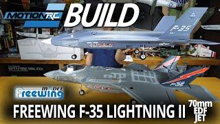 Остаточного Бі-F-35 Блискавка II В3 70мм EDF струменя - відео збірки - РУ руху