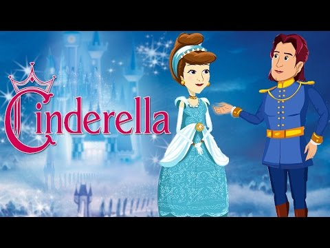 Cinderella | Full Movie | Cartoon Animated Fairy Tales For Kids | Princess Fairy Tales