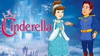 Cinderella | Film | Zeichentrickfilm-Animierte Märchen Für Kinder | Prinzessin Märchen