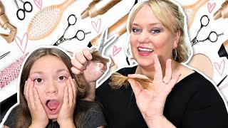 14 Back to School Haircuts! | Before and After! | Homeschool!