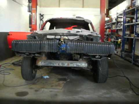 Mercury Cougar 68 With Ford Probe Headlight Motors Youtube