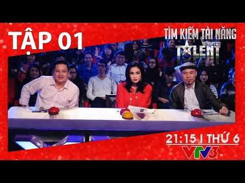 [FULL HD] Vietnam's Got Talent 2016 – TẬP 01 (01/01/2016)