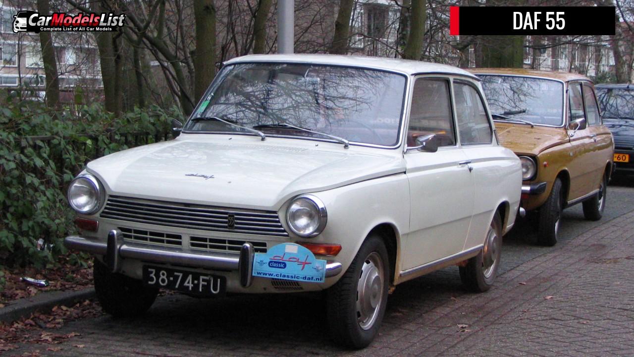 All DAF Models   Full list of DAF Car Models & Vehicles - YouTube
