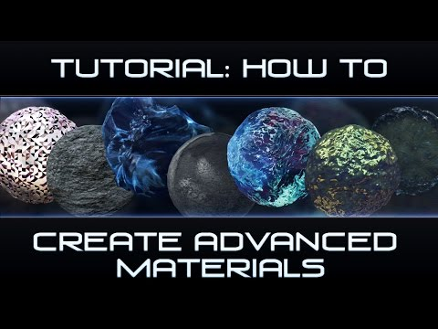 How to: Make Advanced Materials [Cinema 4D]