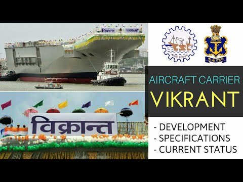 INS Vikrant - All Updates About INS Vikrant Aircraft Carrier | INS Vikrant Current Status (Hindi)
