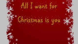 Baixar Mariah Carey All I Want for Christmas is you Lyrics On Screen (HQ)