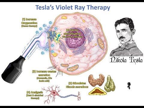 Tesla's Violet Ray Electrotherapy⚡️Zero Point Energy Zap