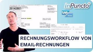 Rechnungsworkflow von Email-Rechnungen (PDF) in SAP
