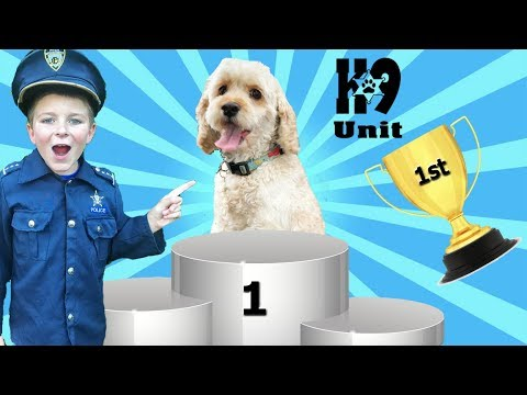 The Sketchy Dog Trainer - hilarious pretend play kids video with puppy