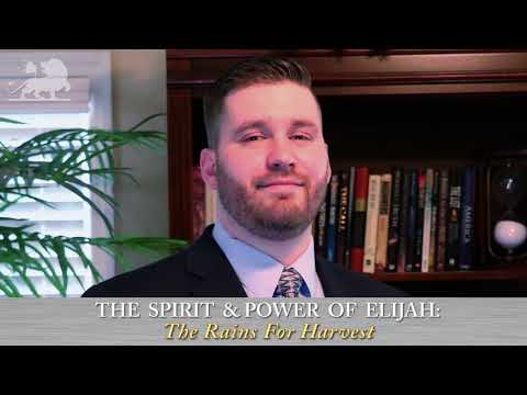 Stephen Powell - The Spirit & Power of Elijah: The Rains For