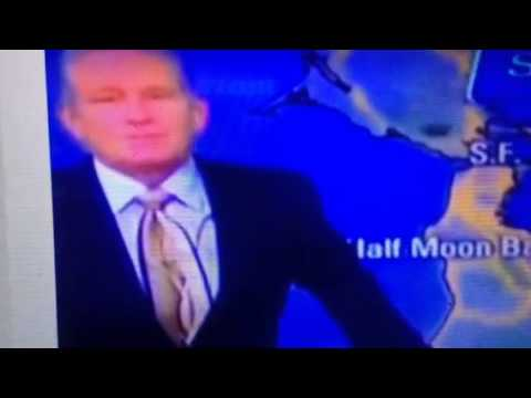 "KTVU Weatherman Reacts To Earthquake ""Oh My Goodness"""