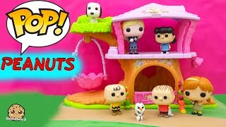 The Peanuts Movie Funko Pop Vinyl Characters Charlie Brown, Lucy, Snoopy, Linus Cookieswirlc Video